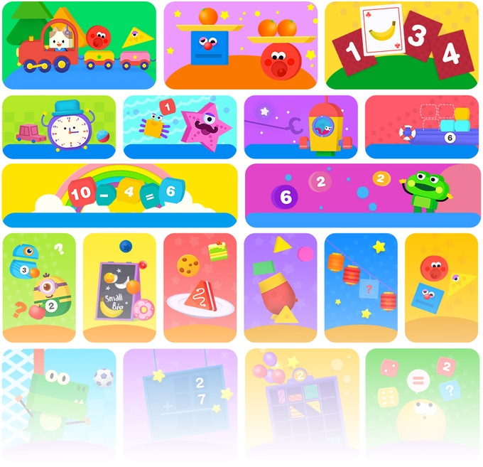 Beginning learners love to play and explore with our multisensory learning games! The games are FREE to download —with more coming soon.
