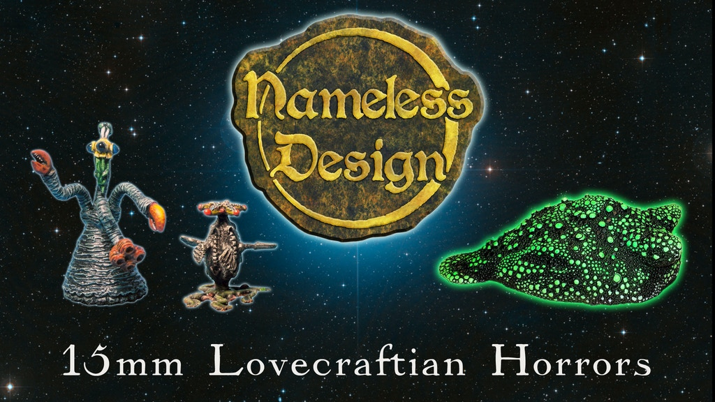 Project image for Nameless Design: 15mm Lovecraftian Horror Miniatures