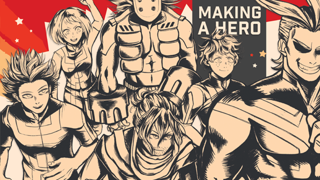 Project image for MAKING A HERO: A My Hero Fanzine