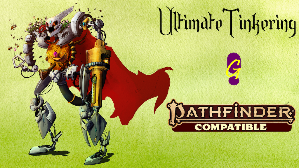 Project image for Ultimate Tinkering for Pathfinder Second Edition (Canceled)