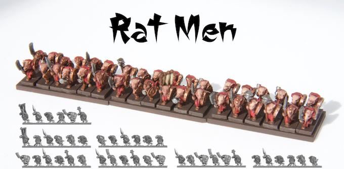 Cromarty Forge 10mm: Samurai-Ninja-Warrior-Monk-Ratmen Army