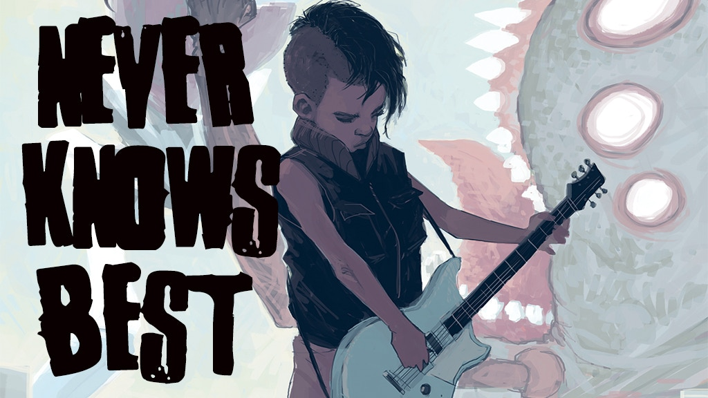 Project image for Never Knows Best: An RPG Inspired By FLCL