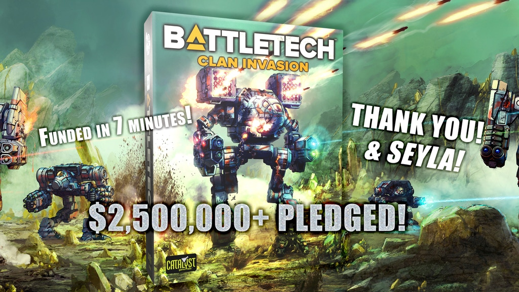 Battletech 2020 Mech List.Battletech Clan Invasion By Catalyst Games Kickstarter