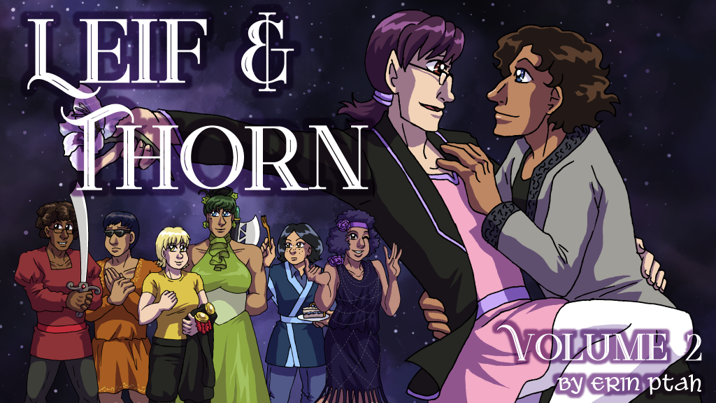 Leif & Thorn Volume 2: Sparklier, magic-er, funnier, gayer project video thumbnail