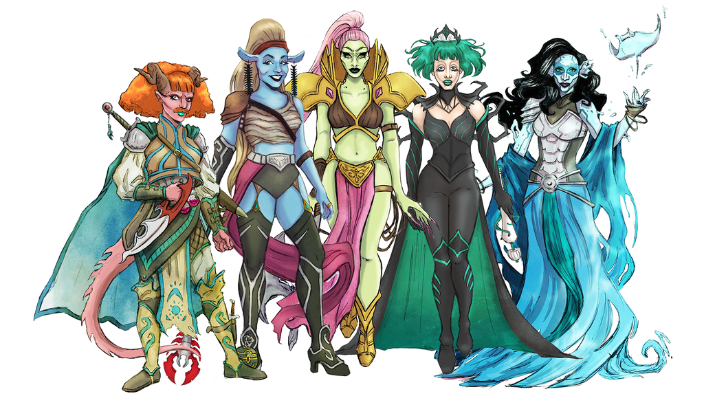 Queens of Adventure's Legendary Journey project video thumbnail