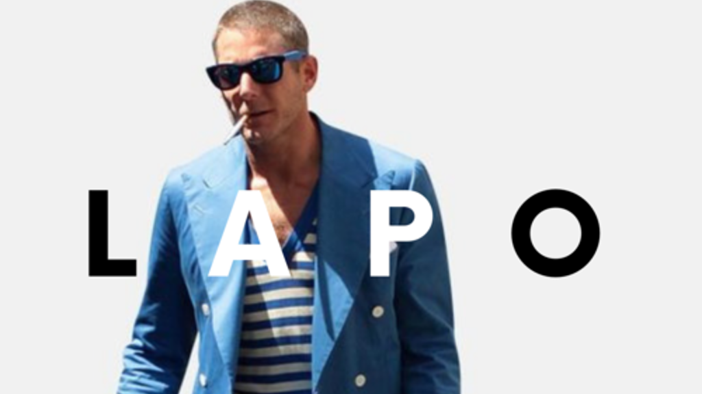 "Project image for The OFFICIAL ""Lapo Bein' Lapo"" Tee"