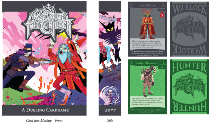 Cast Out the Conjurer: A 2 Player Dueling Card Game