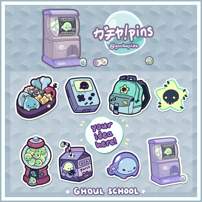 Ghoul School by GachaPins » ☆Design raffle event and