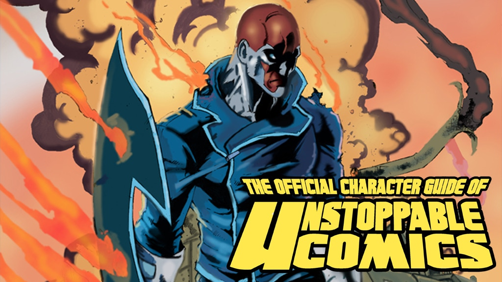 The Official Character Guide of Unstoppable Comics Vol 1 project video thumbnail
