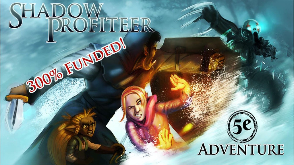 The Shadow Profiteer project video thumbnail