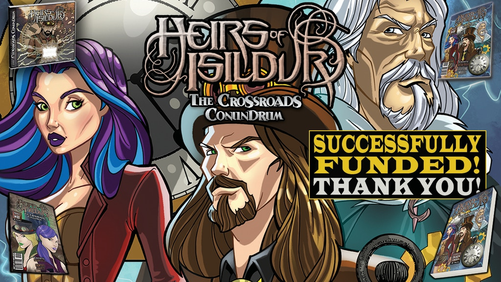 Heirs of Isildur: Issue 1-11 +260pg Enhanced Trade Paperback project video thumbnail