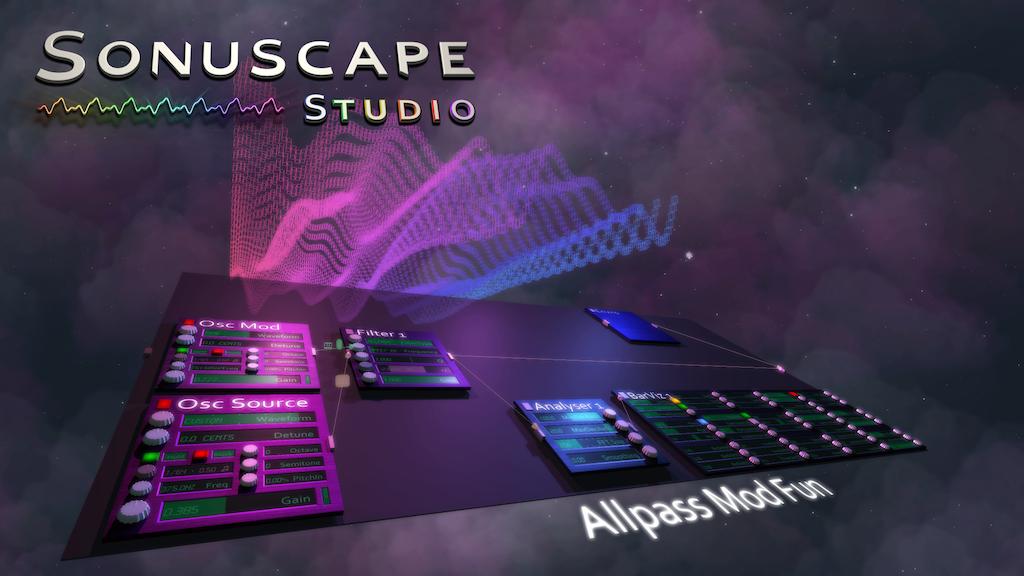 Sonuscape Studio - The Online, 3D DAW & Audiovisual Suite by