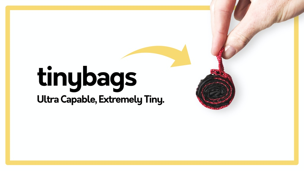 Tinybags | As Small as a Coin, as Capable as a Backpack! project video thumbnail