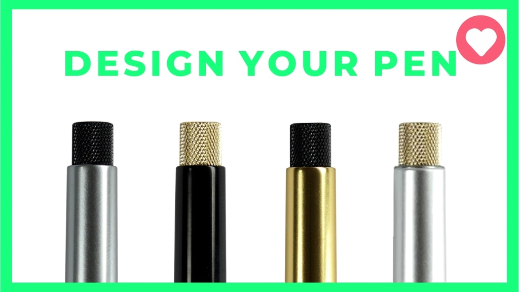 🖊️ Sens - design your own minimalistic pen project video thumbnail