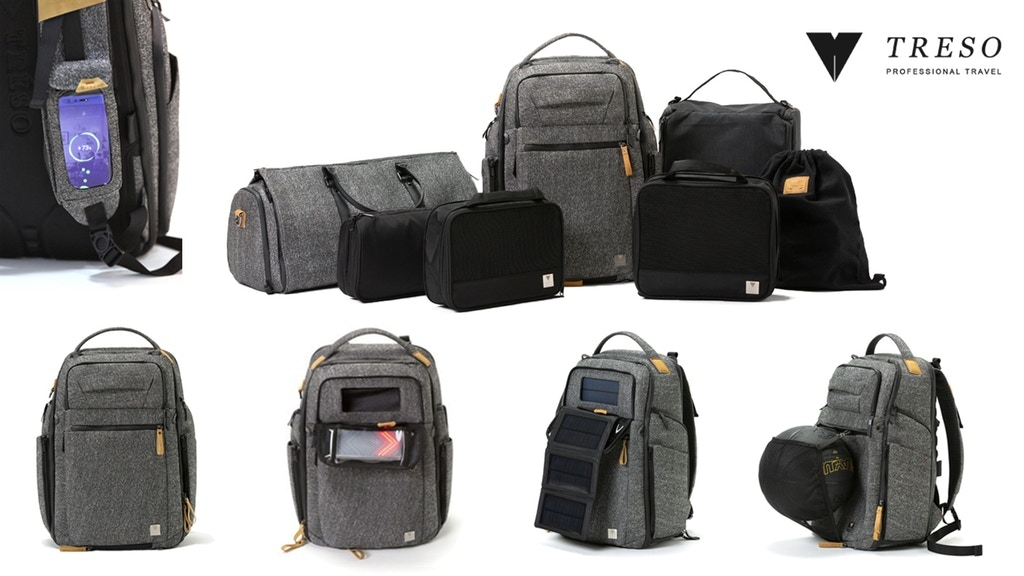 The TRÉSO Travel Backpack System project video thumbnail