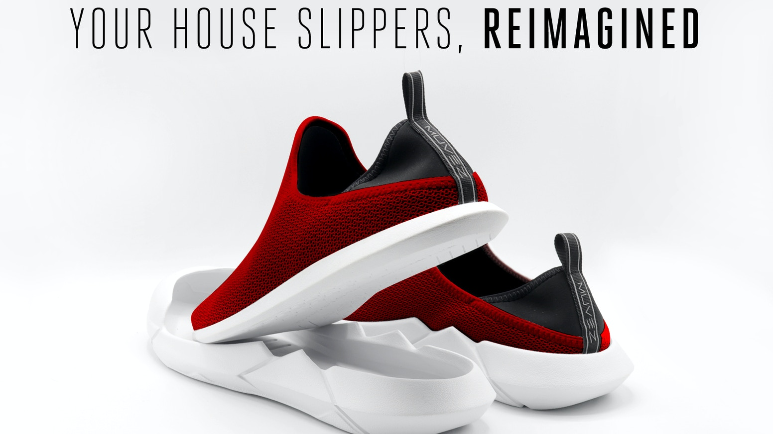 3:AMs combine the functionality and detail of an athletic shoe with the comfort and convenience of casual house slippers