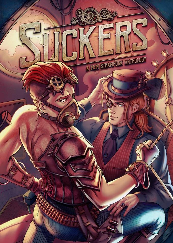Suckers: A MxM Steampunk Anthology