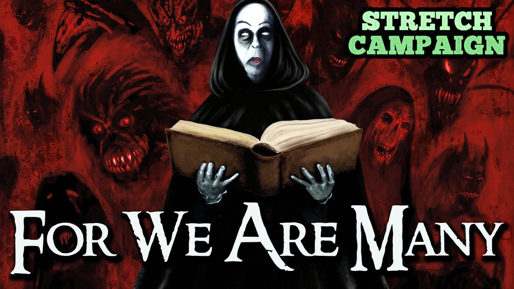 For We Are Many (Feature) Lovecraft Horror! ONLY 1 HOUR LEFT project video thumbnail