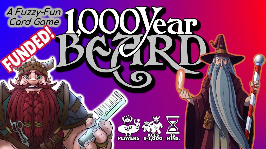 1,000 YEAR BEARD project video thumbnail