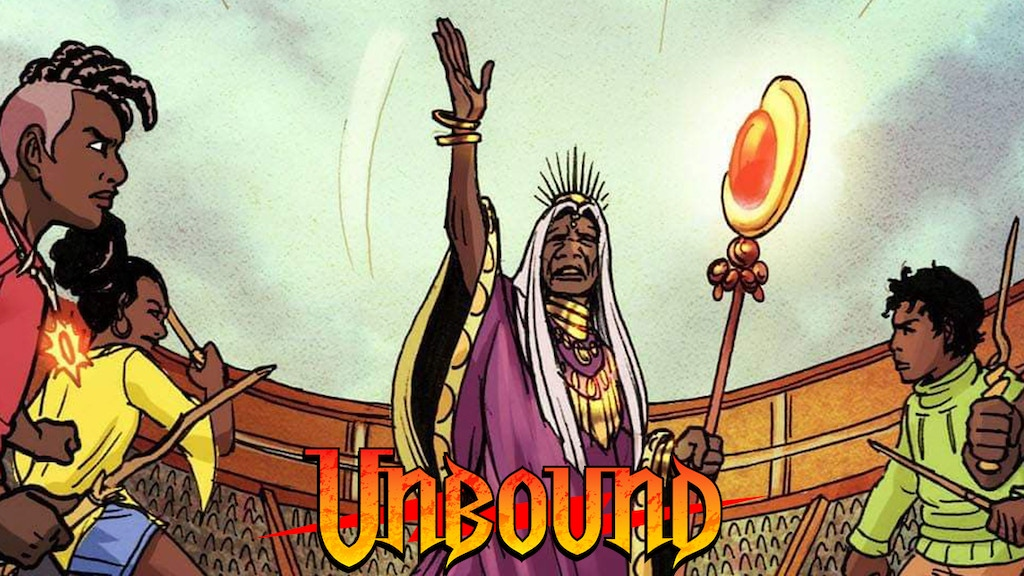 Project image for Unbound: Terrible Wizard Must Save the Day-Break Kickstarter