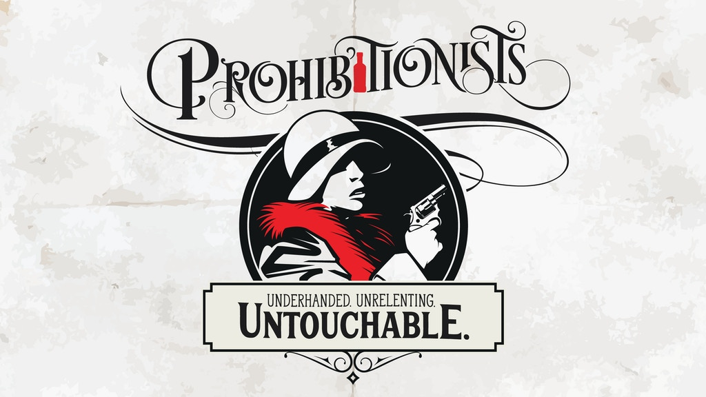 Prohibitionists - the card game about taking out the Mob project video thumbnail