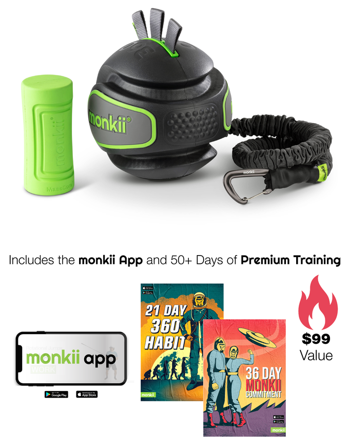 A Hyper-Efficient Fitness Device | MONKII 360
