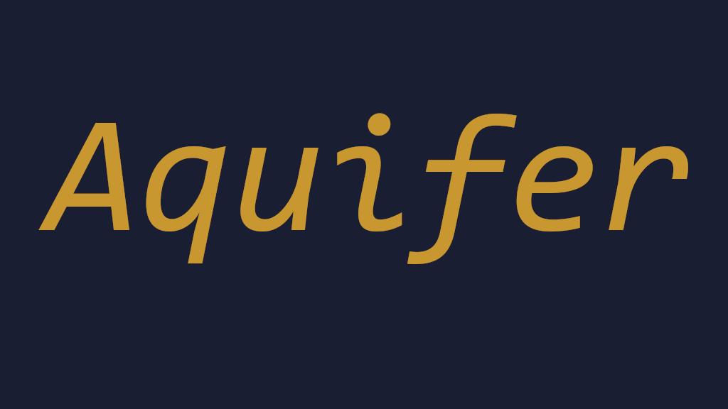 Project image for Aquifer (Canceled)