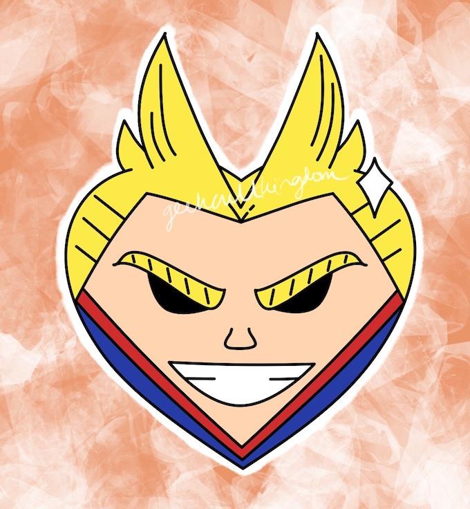 Heart Character Enamel Pins by Geek Culture Kingdom