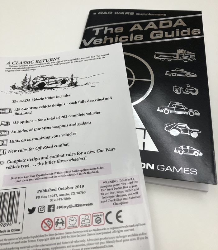 Pocket Box Games of the Eighties by Steve Jackson Games