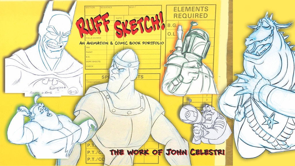Ruff Sketch! An animation & comic book portfolio project video thumbnail