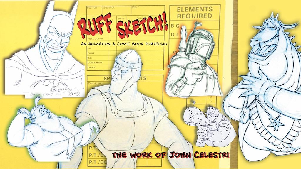 Ruff Sketch! An animation & comic book portfolio