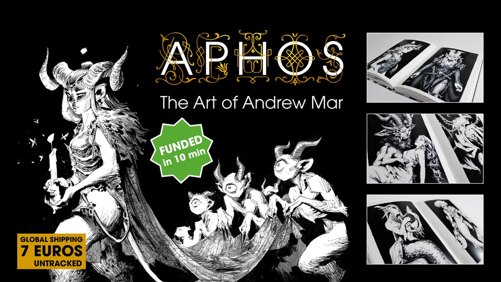 Project image for Aphos - The Art of Andrew Mar
