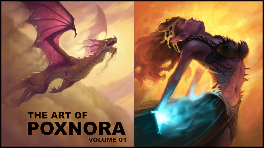 The ART of PoxNora Volume 1 project video thumbnail
