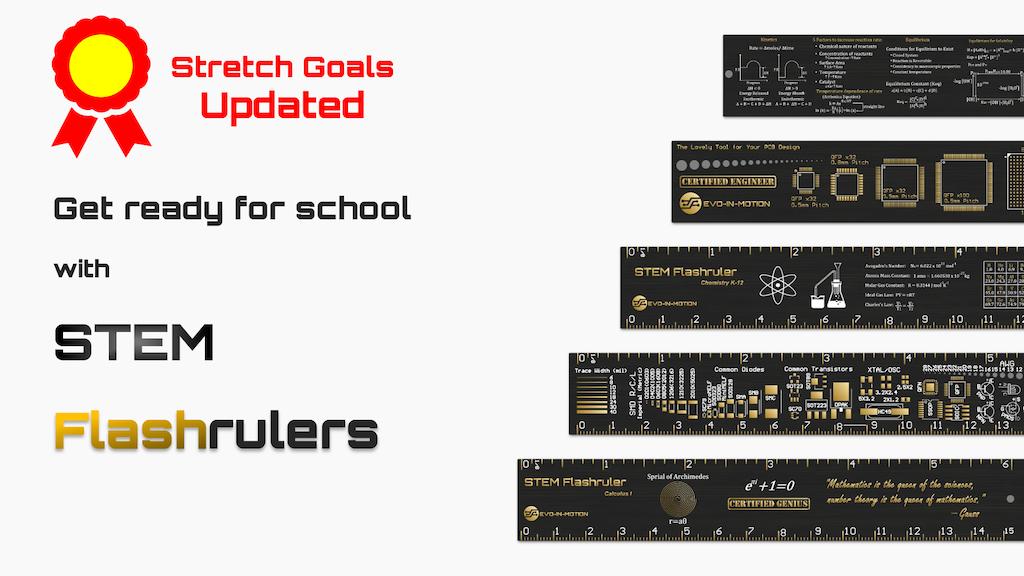 Elegant Black-gold STEM Flashrulers project video thumbnail