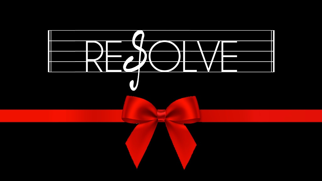 Project image for RESOLVE EP: 'All Wrapped Up'