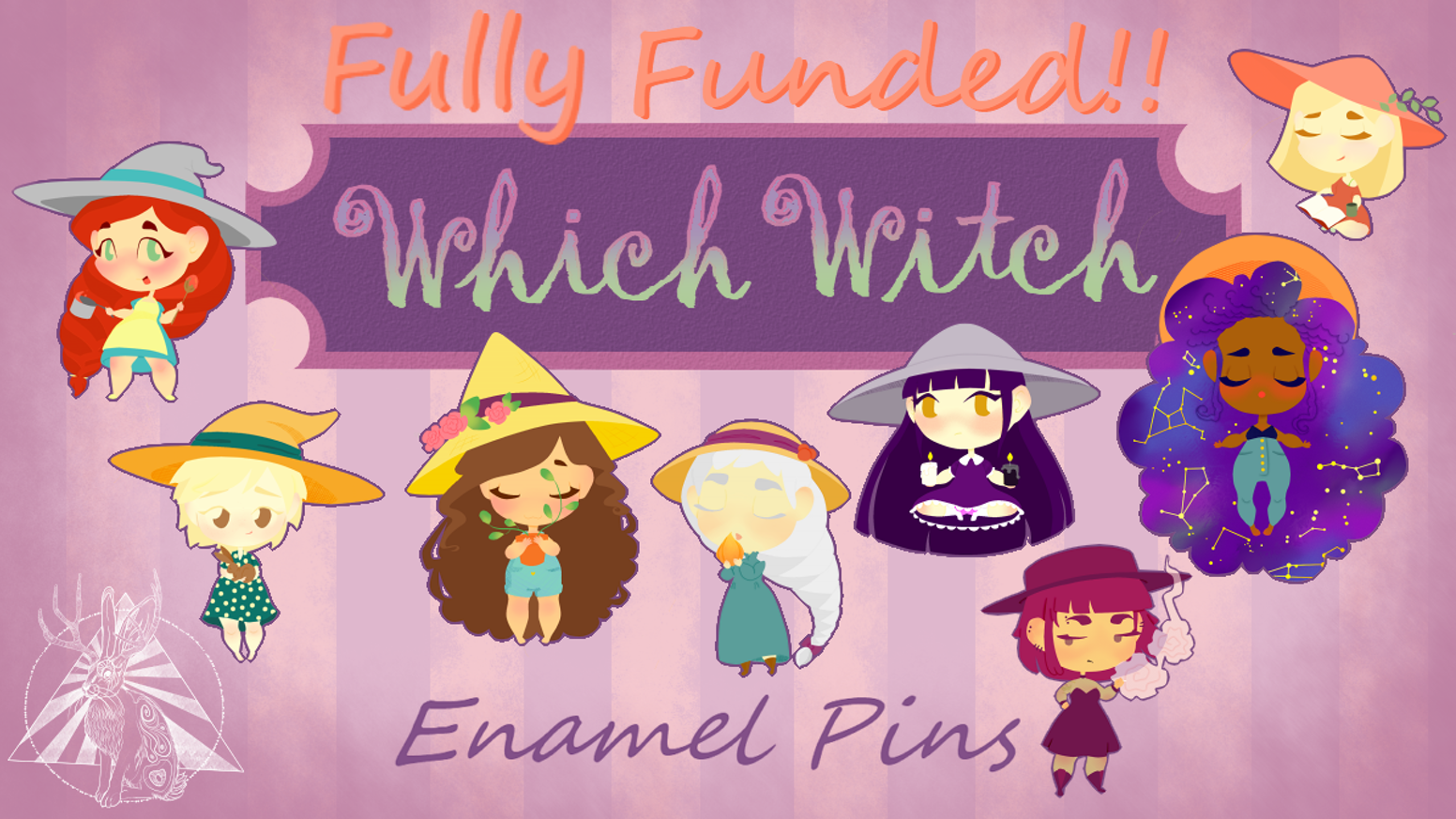 Which Witch Enamel Pins All Designs Unlocked By Friday Norvell