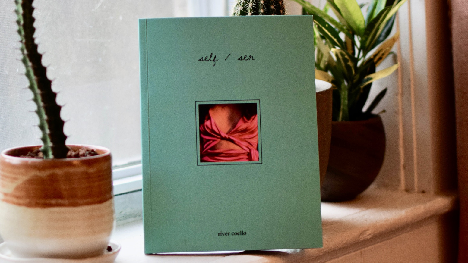 self/ser is a poetic-photographic, ancestral-spiritual exploration of (queer and trans) existence and love.