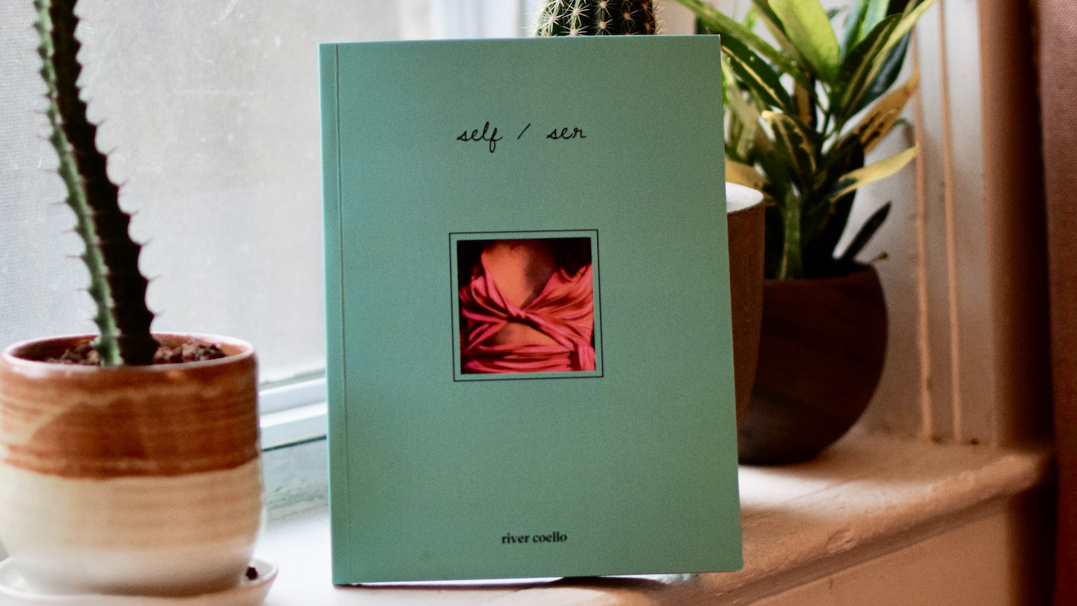 self/ser is a poetic-photographic, ancestral-spiritual exploration of queer and trans existence and love.
