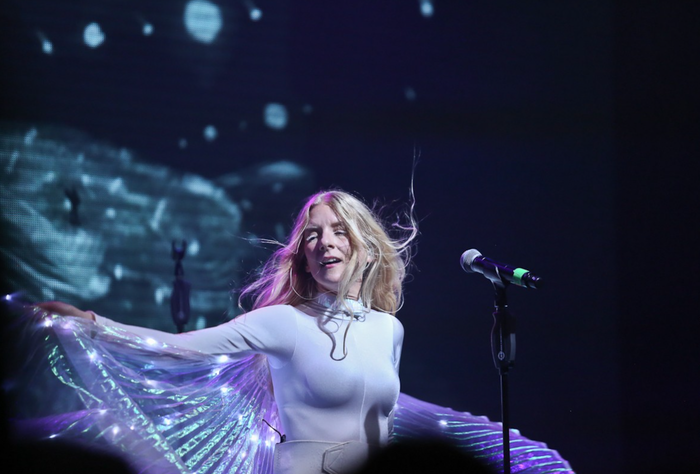 audiovisual artist 'ionnalee', creator and front person of the online phenomenon 'iamamiwhoami' has independently funded a world-tour in just 4 days. tickets @ ionnalee.com
