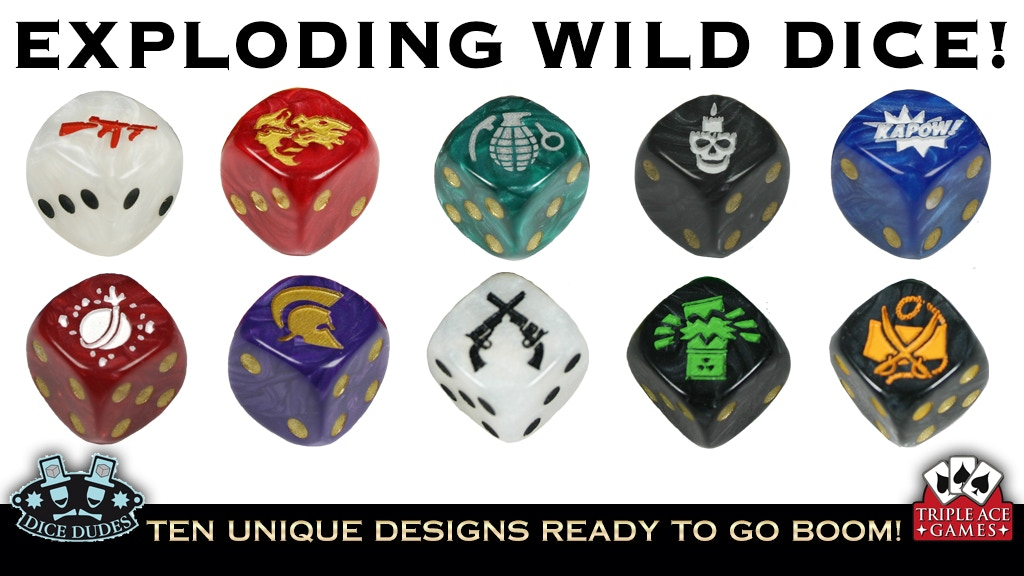 Project image for Exploding Wild Dice