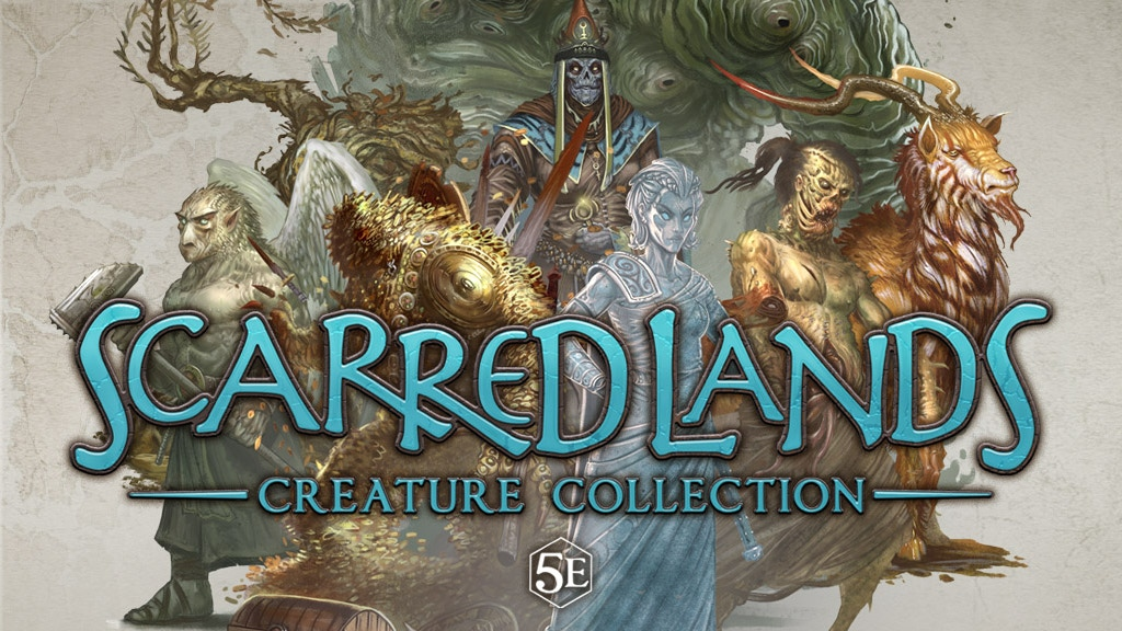 Scarred Lands Creature Collection for 5th Edition RPG by