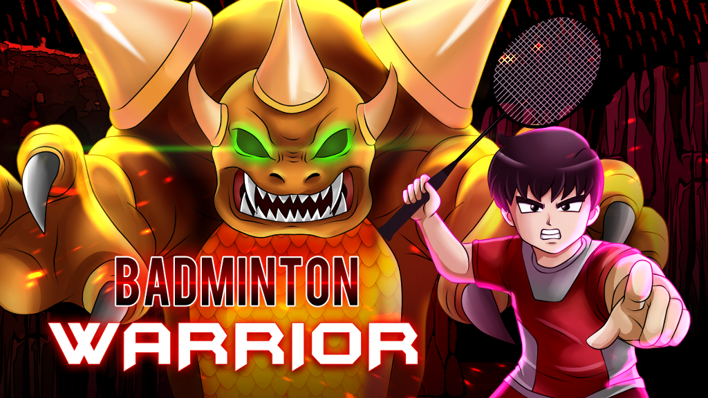 Badminton Warrior: 2D Action Side Scroller by Ralph Wong