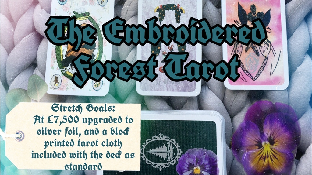 The Embroidered Forest Tarot Deck project video thumbnail