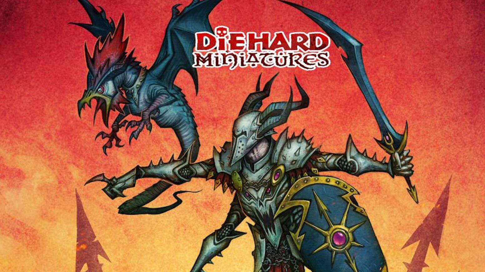 Diehard Miniatures Chaos Incursion By Tim Prow Kickstarter
