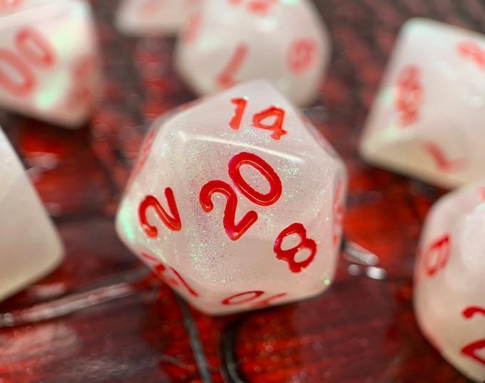 Bloodstone Dice RPG Dice Set