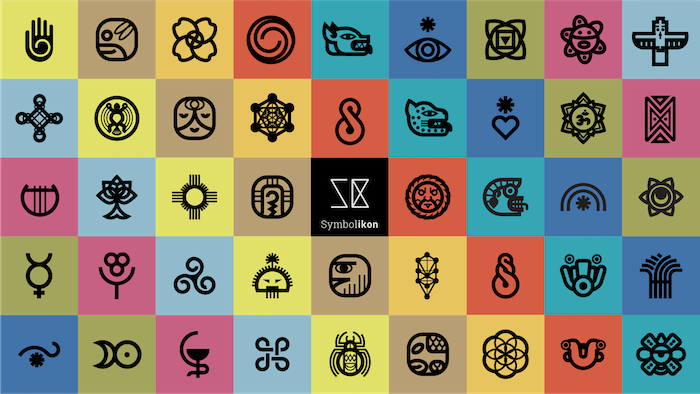Extended Visual Library of 650+ EthnoGraphic Symbols categorized with Meanings. Carefully Redesigned in a consistent and modern style.
