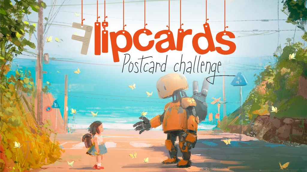 Project image for Flipcard: the Postcard Challenge (Canceled)
