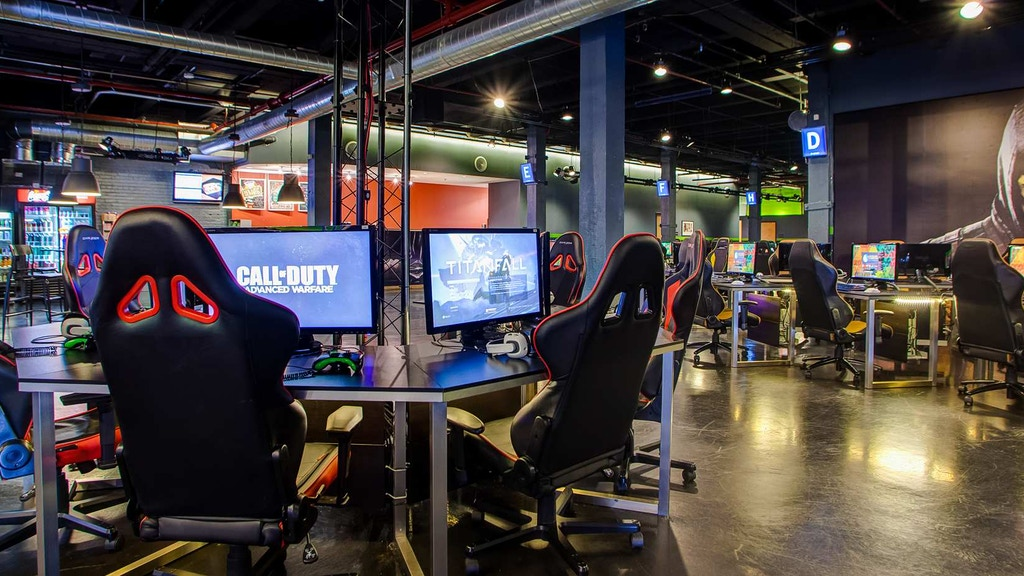 Project image for Network Gaming Facility - HOT DROP GAMING