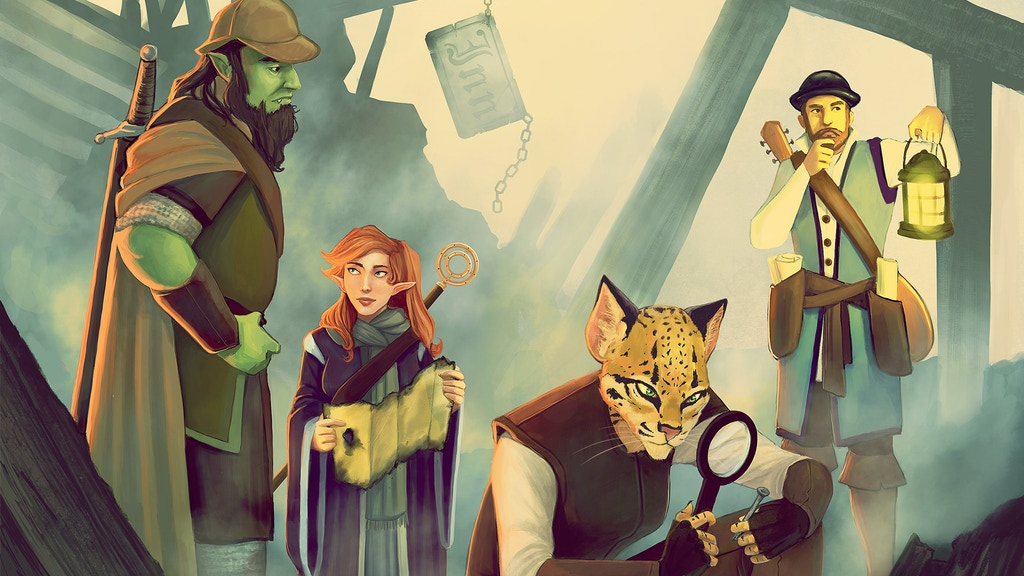 Project image for Empyrean Investigations: Detective Adventures for D&D 5E