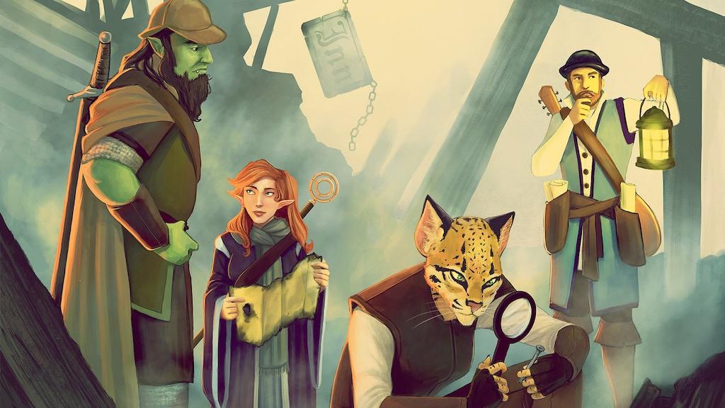 Coming soon: Empyrean Investigations: Detective Adventures for D&D 5E